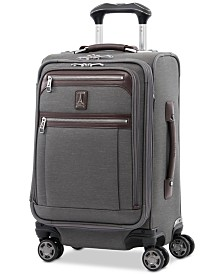 "Travelpro Platinum Elite 20"" Softside Business Plus Carry-On Spinner Suitcase"