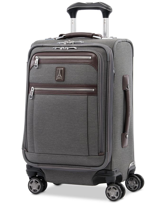"""Travelpro - Platinum Elite 20"""" Softside Business Plus Carry-On Spinner Suitcase"""