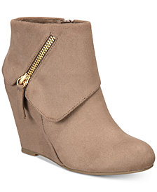 Rebel by Zigi Women's Ksenia Wedge Booties