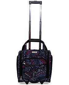 Jessica Simpson Boho Wheeled Under-Seat Carry-On Suitcase