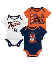 Outerstuff Detroit Tigers Play Ball 3-Piece Set, Infants (0-9 Months)