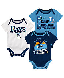 Outerstuff Tampa Bay Rays Play Ball 3-Piece Set, Infants (0-9 Months)