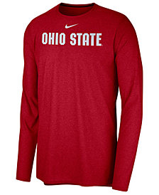 Nike Men's Ohio State Buckeyes Long Sleeve Player T-shirt