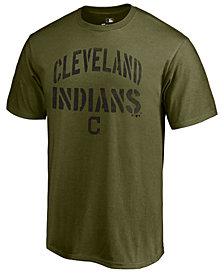 Majestic Men's Cleveland Indians Stencil Wordmark T-Shirt