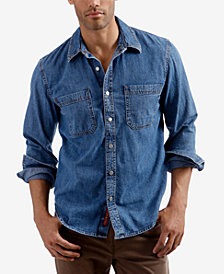 Lucky Brand Men's Denim Workwear Shirt