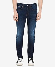 Calvin Klein Jeans Men's Austin Skinny-Fit Stretch Dark Blue Jeans