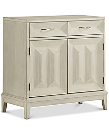 Reeds Two-Drawer Cabinet, Quick Ship