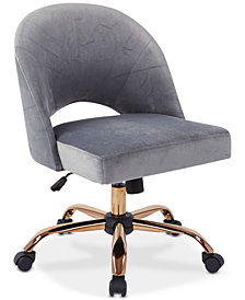 Dylle Fabric Office Chair, Quick Ship