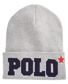 cc497d16f94 Polo Ralph Lauren Signature Merino Cuffed Beanie - Hats