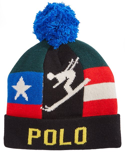 8d9c163bdf4 Polo Ralph Lauren Men s Downhill Skier Hat  Polo Ralph Lauren Men s  Downhill Skier ...