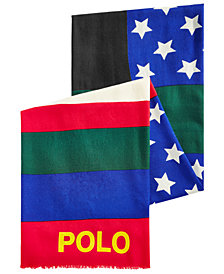Polo Ralph Lauren Men's Wool Downhill Skier Scarf