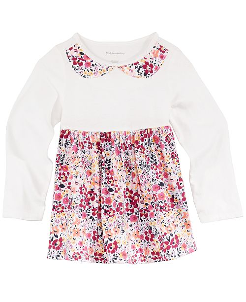 ce8ae502c First Impressions. Toddler Girls Floral-Print Cotton Tunic, Created for  Macy's. Be the first to Write a Review. main image