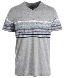 American Rag Men's Stripe V-Neck T-Shirt, Created for Macy's