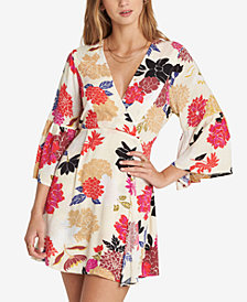 Billabong Juniors' Divine Printed Bell-Sleeve Dress