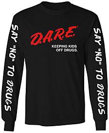 Changes Men's Long-Sleeve D.A.R.E. Graphic T-Shirt