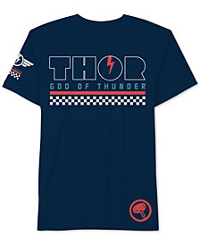 Hybrid Men's Thor God Of Thunder Graphic T-Shirt