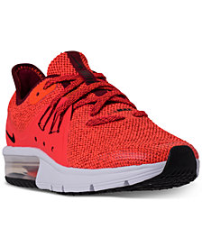 Nike Boys' Air Max Sequent 3 Running Sneakers from Finish Line