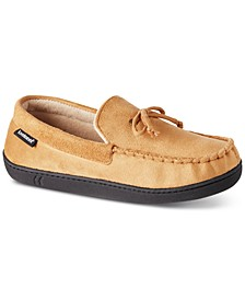 Isotoner Men's Faux-Suede Moccasins With Memory Foam