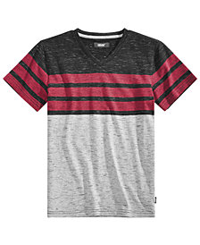 Univibe Big Boys Streaky Stripe T-Shirt