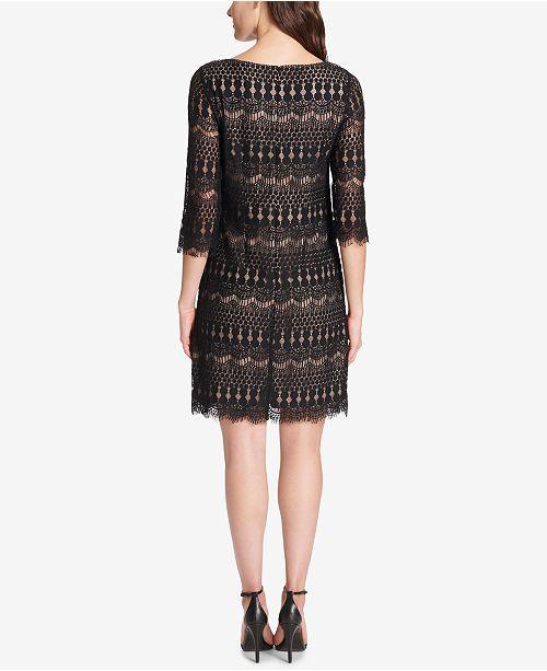 Illusion Howard Tan Lace Black Jessica Dress qax71w15