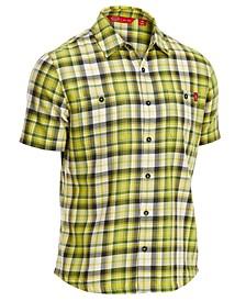 EMS® Men's Ranger Plaid Short-Sleeve Cotton Shirt