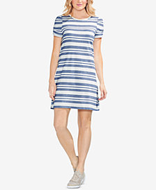 Vince Camuto Striped T-Shirt Dress