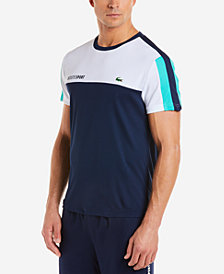 Lacoste Men's Colorblocked Piqué Tennis T-Shirt