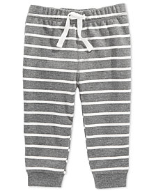First Impressions Toddler Boys Striped Jogger Pants, Created for Macy's