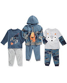 First Impressions Baby Boys Hoodie, T-Shirts & Jogger Pants, Created for Macy's