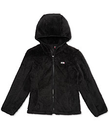 32 Degrees Little Girls Double Monkey Fleece Jacket
