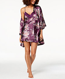 Thalia Sodi Printed Charmeuse Wrap, Created for Macy's