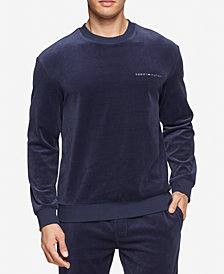 Tommy Hilfiger Men's Modern Essentials Velour Sweatshirt