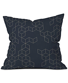 Deny Designs Florent Bodart Keziah Night Throw Pillow