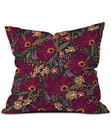 Deny Designs Joy Laforme Anemone Fable Throw Pillow