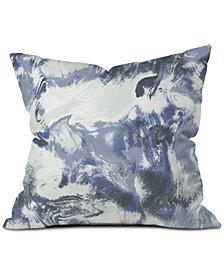 Deny Designs Jacqueline Maldonado Mist Blue Throw Pillow