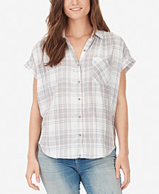 WILLIAM RAST Plaid Button-Front Shirt