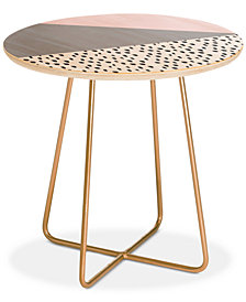 Deny Designs Viviana Gonzalez scandinavian style collection 02 Round Side Table
