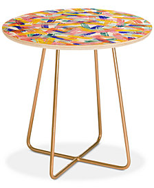 Deny Designs Hello Sayang Sparklers Round Side Table