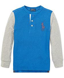 Polo Ralph Lauren Big Boys Cotton Henley Shirt
