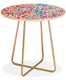 Deny Designs Jacqueline Maldonado Magic Watercolor Round Side Table
