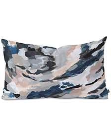 Deny Designs Laura Fedorowicz Parchment Abstract Three Oblong Throw Pillow
