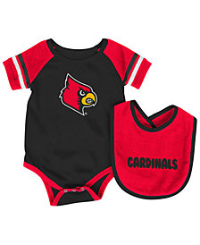 Colosseum Louisville Cardinals Rollout Creeper and Bib Set, Infants (12-24 Months)