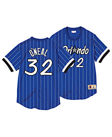 Mitchell & Ness Men's Shaquille O'Neal Orlando MagicName and Number Mesh Crewneck Jersey