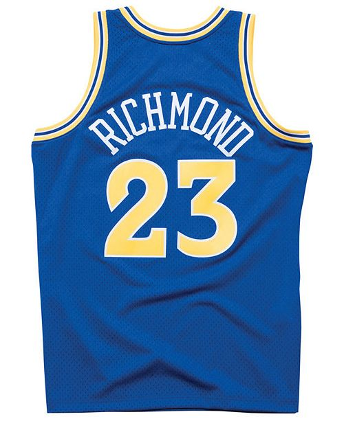 2e22eb52b ... Mitchell   Ness Men s Mitch Richmond Golden State Warriors Hardwood  Classic Swingman Jersey ...