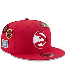 New Era Boys' Atlanta Hawks On-Court Collection 9FIFTY Snapback Cap