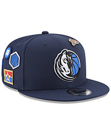 New Era Boys' Dallas Mavericks On-Court Collection 9FIFTY Snapback Cap