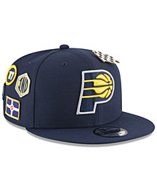 New Era Boys' Indiana Pacers On-Court Collection 9FIFTY Snapback Cap
