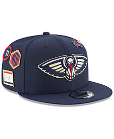 New Era Boys' New Orleans Pelicans On-Court Collection 9FIFTY Snapback Cap