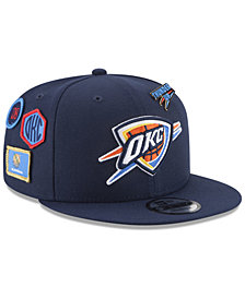 New Era Boys' Oklahoma City Thunder On-Court Collection 9FIFTY Snapback Cap
