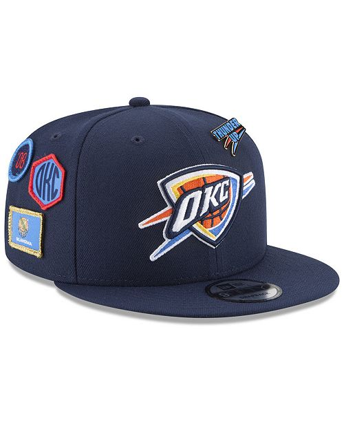 5f3a4503f28 New Era Boys  Oklahoma City Thunder On-Court Collection 9FIFTY ...
